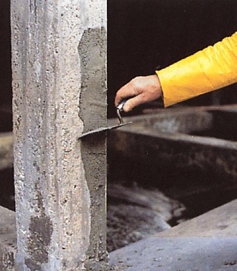 нанесение материалов для гидроизоляции